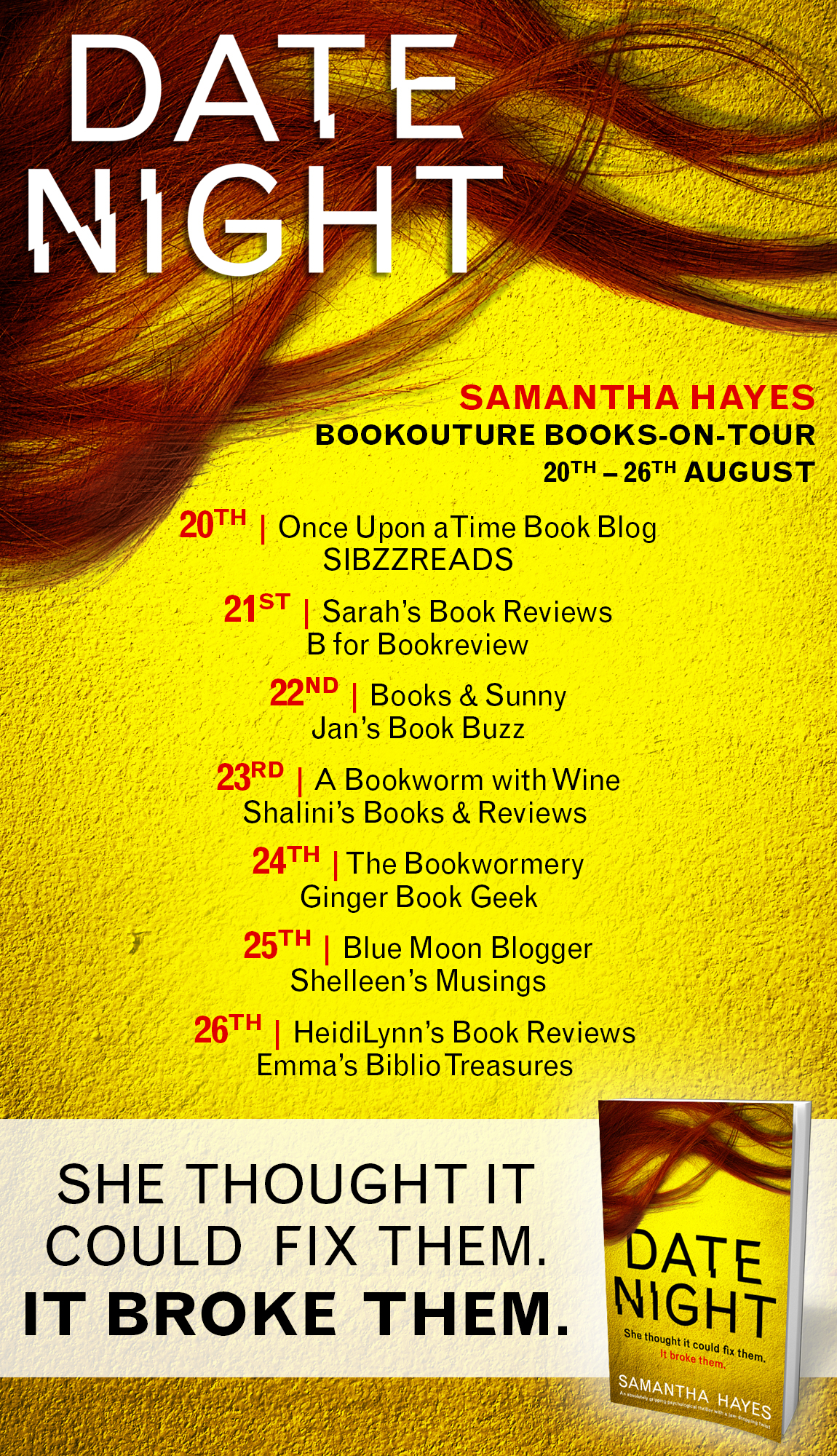 Date Night - Blog Tour