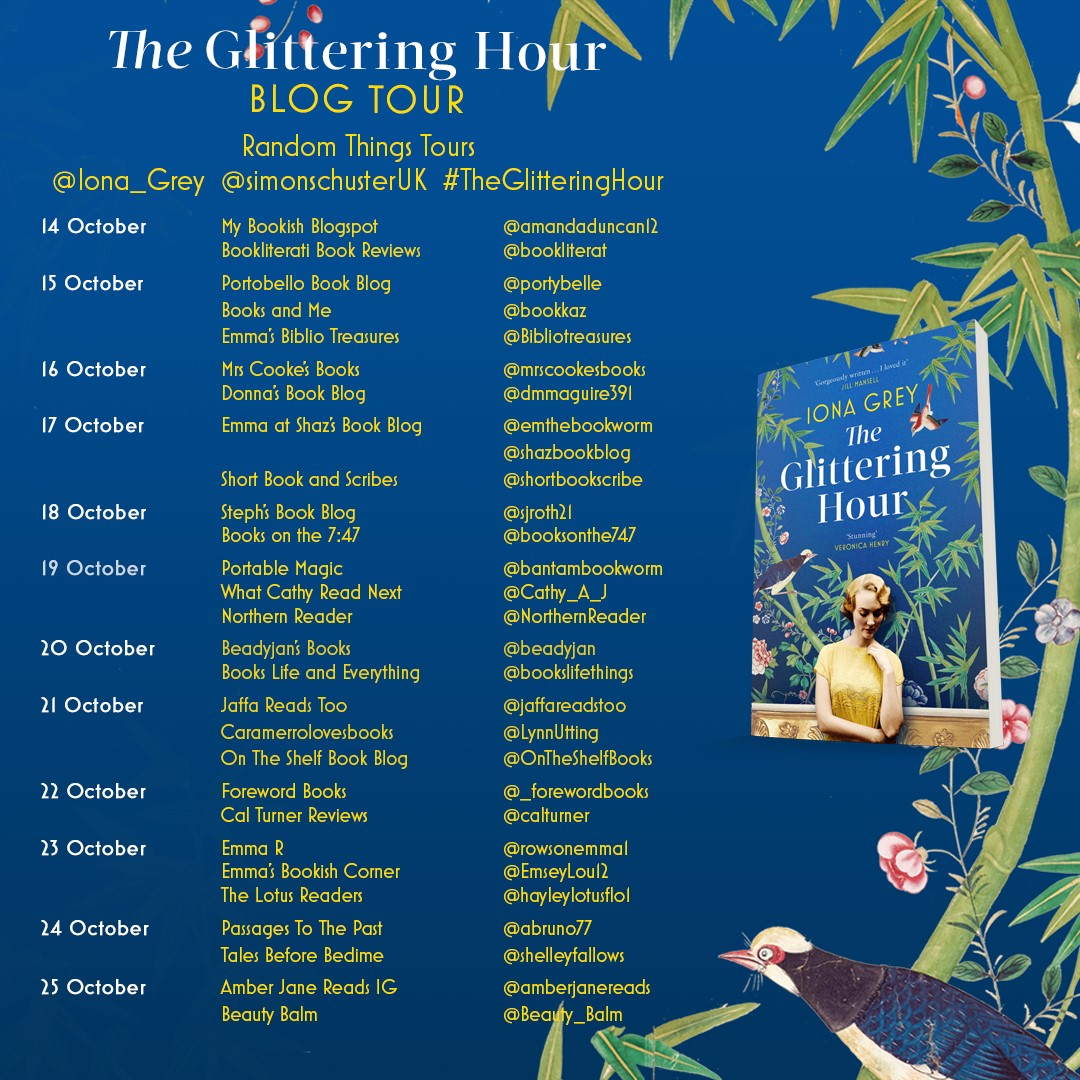 The Glittering Hour BT Poster