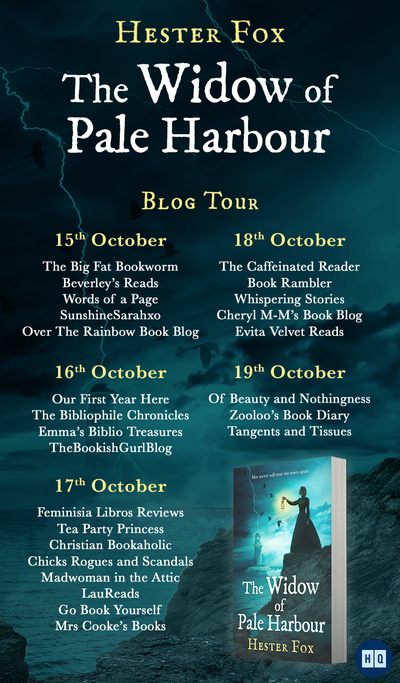 The Widow of Pale Harbour Blog Banner