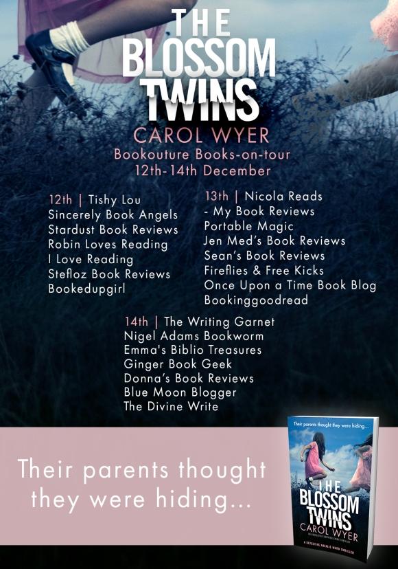 The Blossom Twins - Blog Tour Poster
