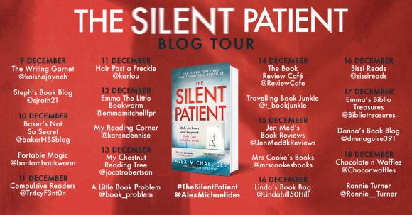 The Silent Patient PB blog tour