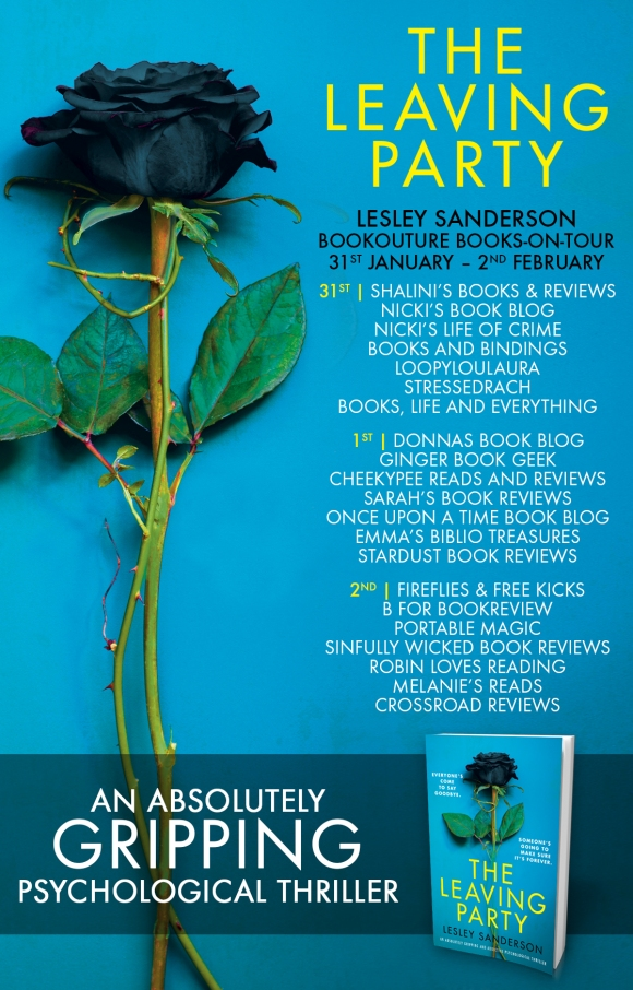 Blog Tour Poster - The Leaving Party