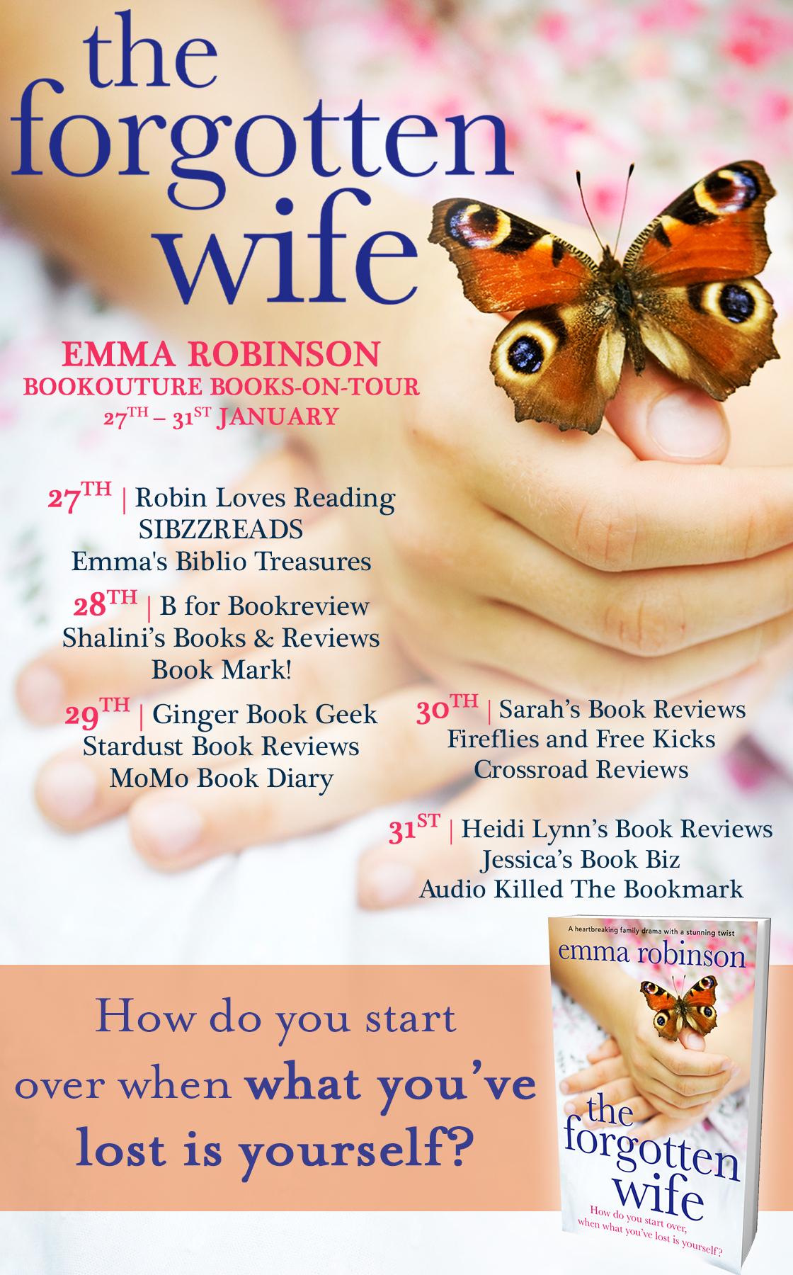 The Forgotten Wife - Blog Tour