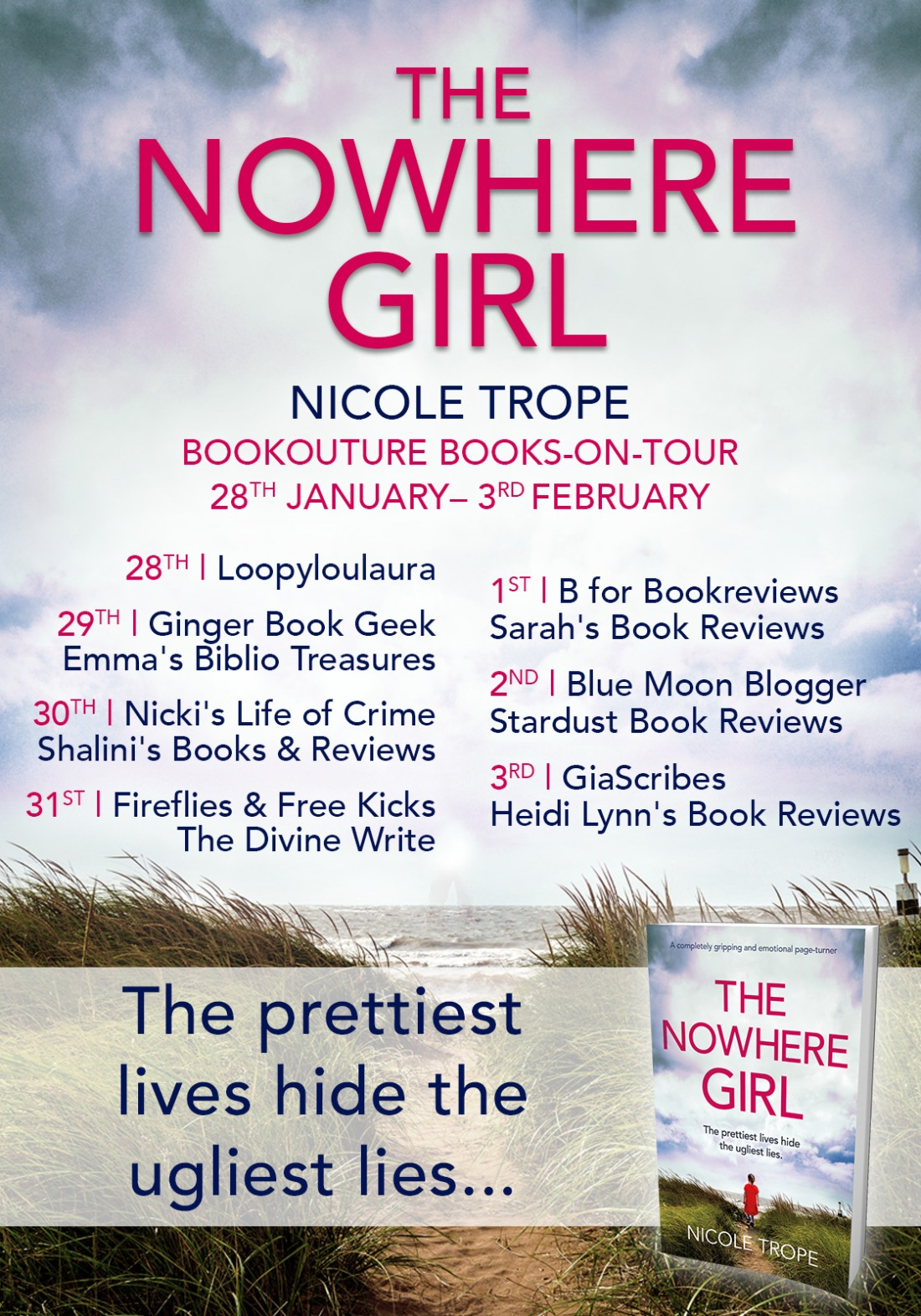 The Nowhere Girl - Blog Tour (1)