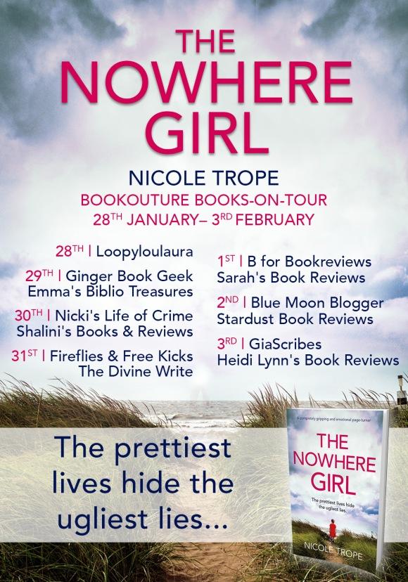 The Nowhere Girl - Blog Tour (1)