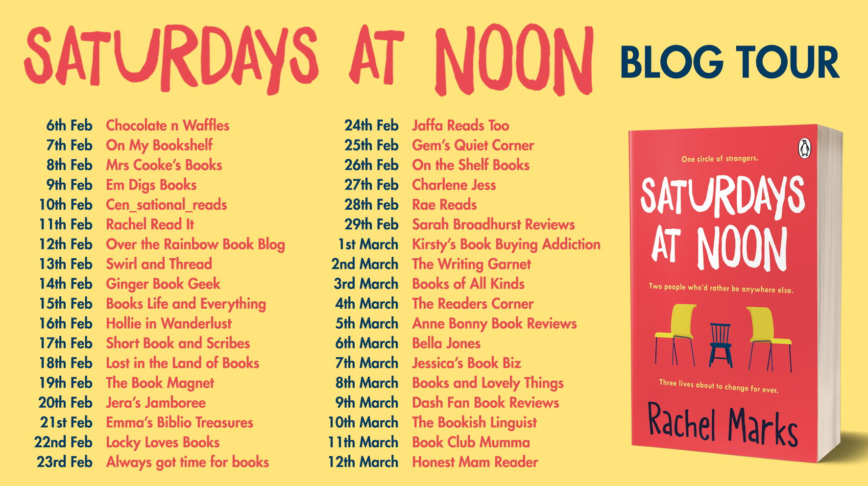 Saturdays at Noon Blog Tour (1)