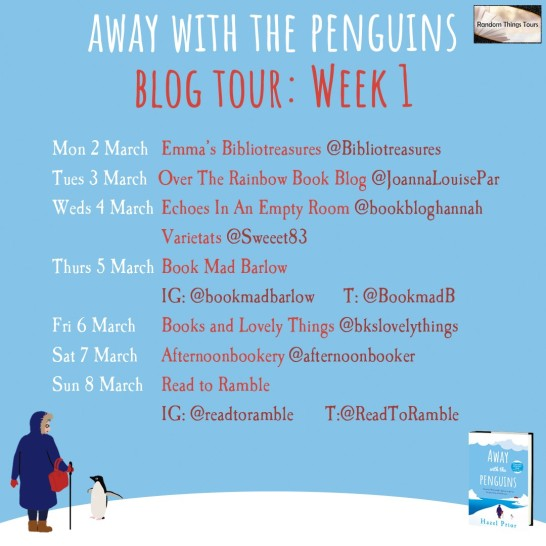 Away With the Penguins Wk 1