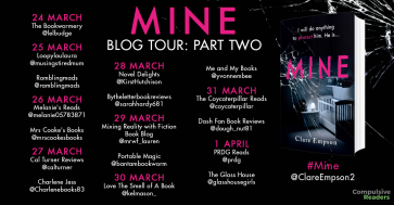 MINE blog tour part two
