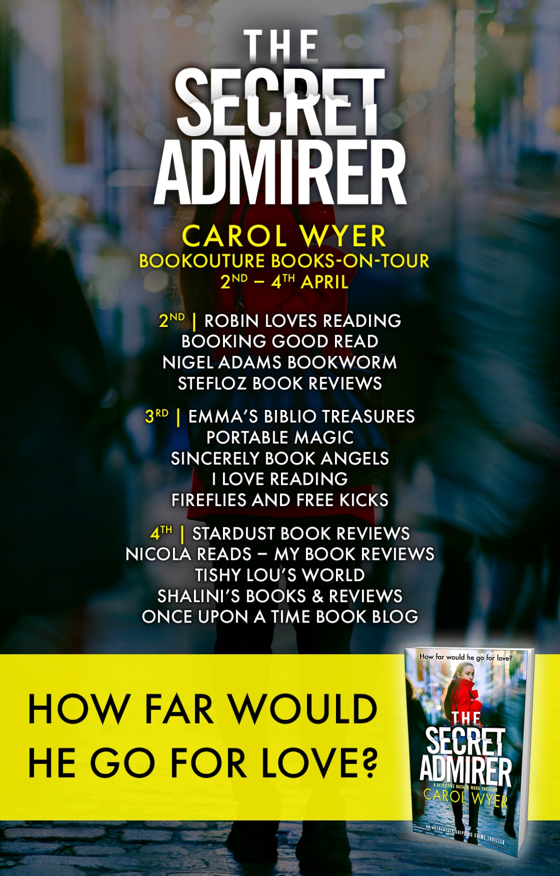 The Sexret Admirer - Blog Tour Poster