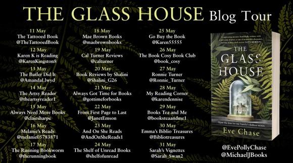 The Glass House blog tour