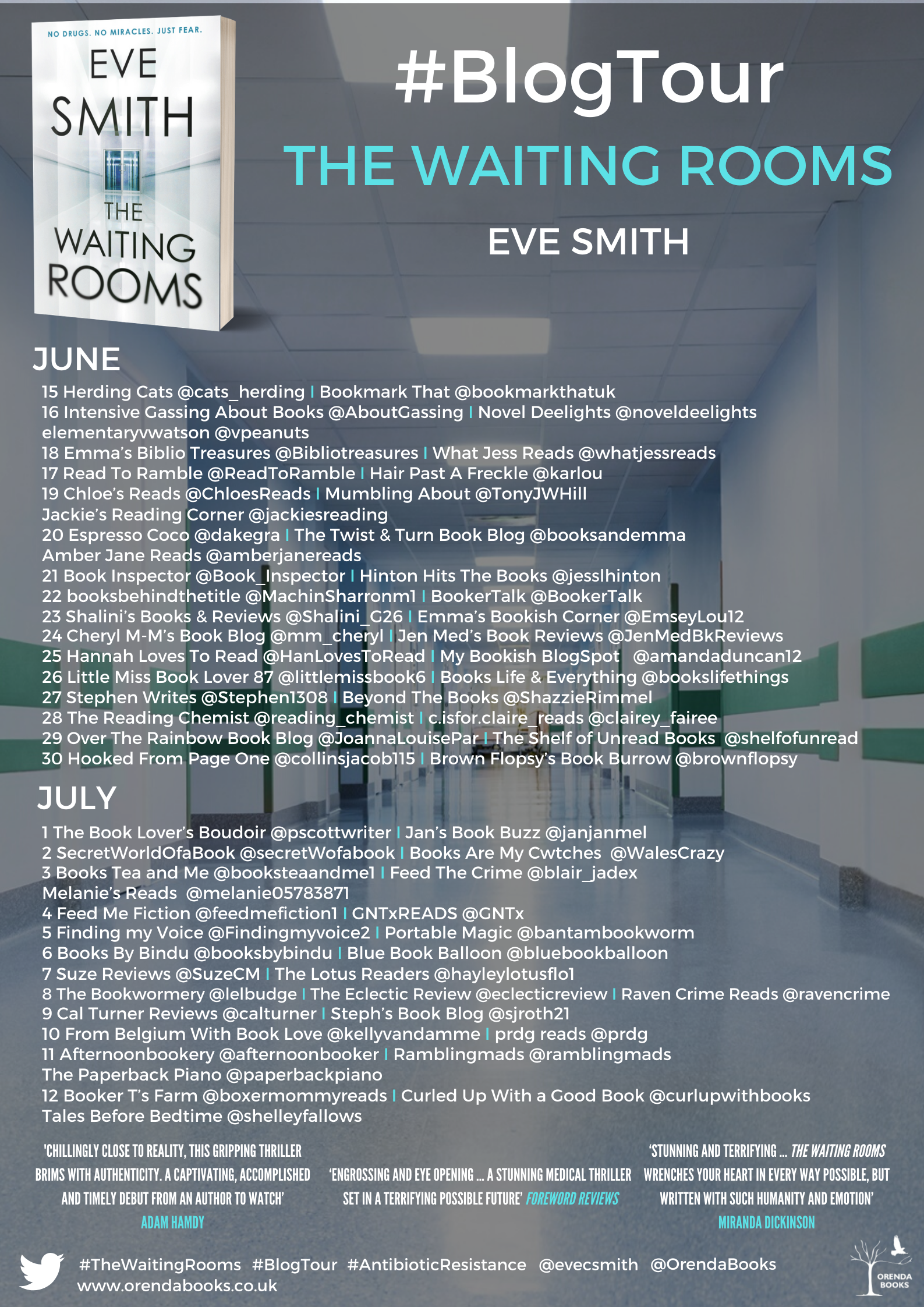 FINAL The Waiting Rooms BT Poster