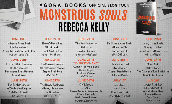 Monstrous Soul Blog Tour Image