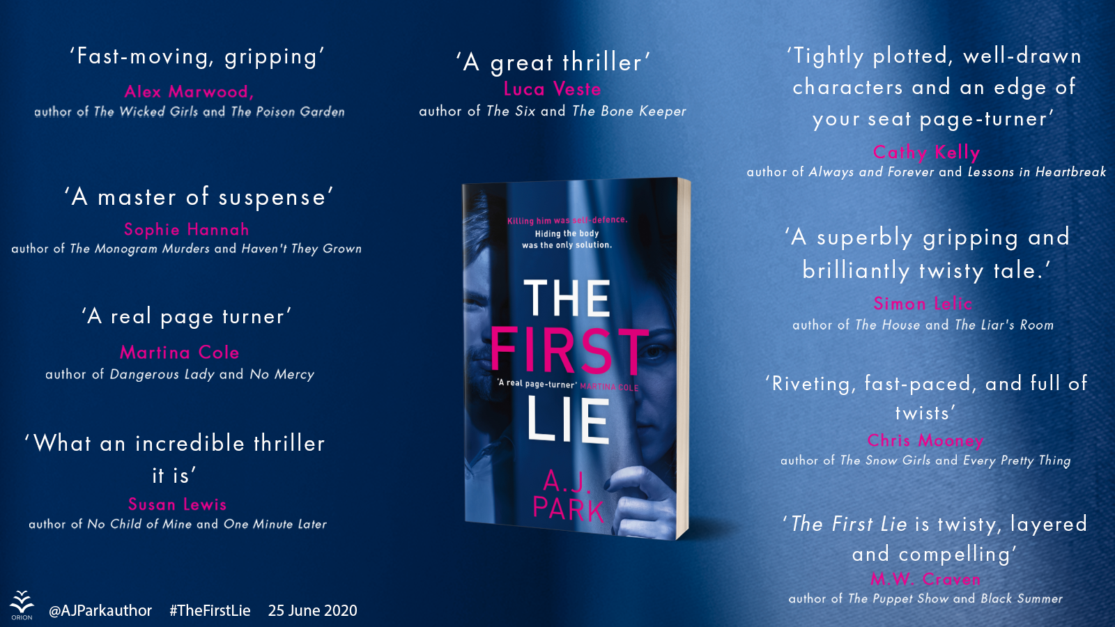 THE FIRST LIE all quotes