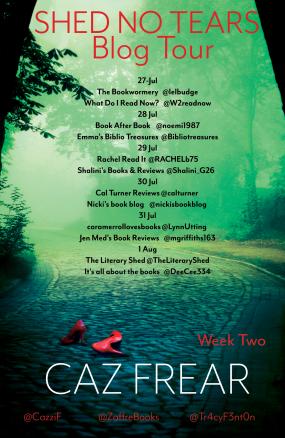 Caz Shed No Tears Week 2 25.06
