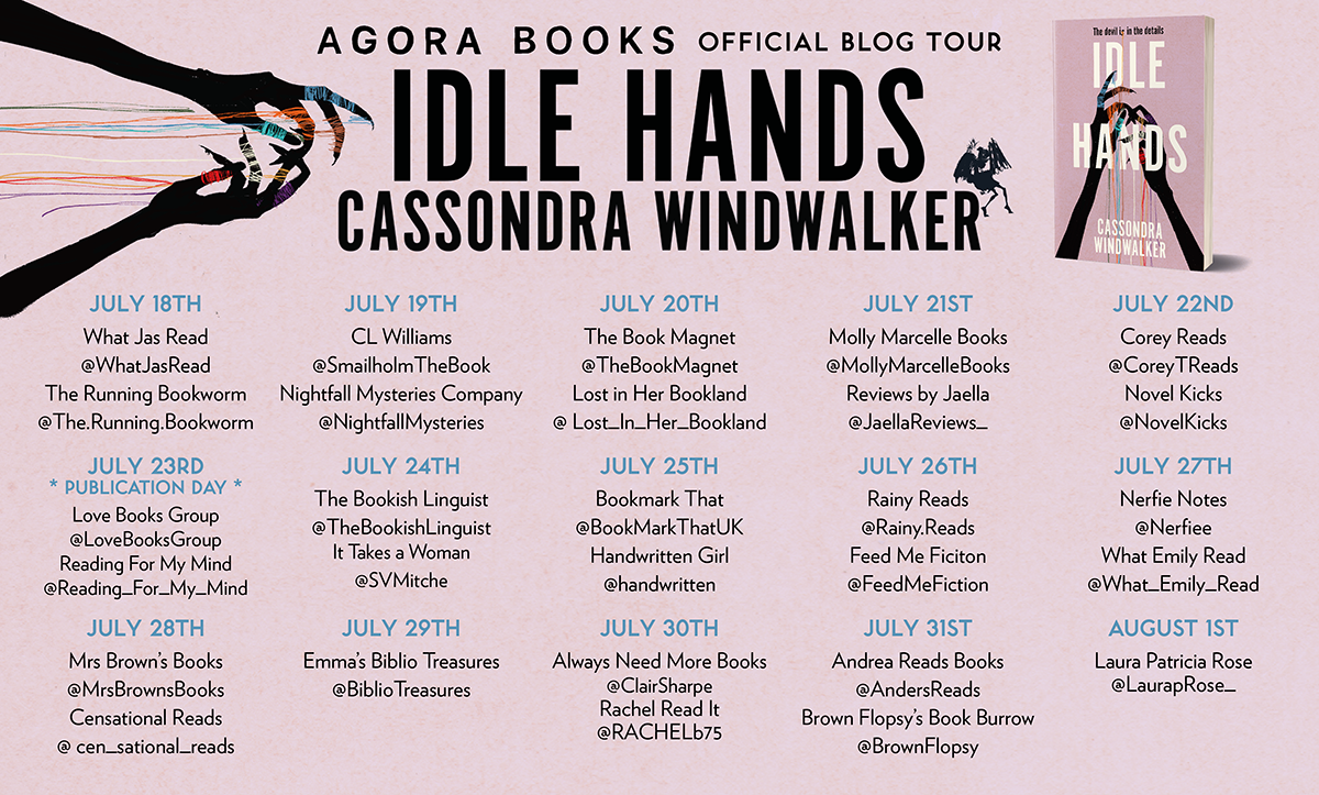 Idle Hands Blog Tour Image
